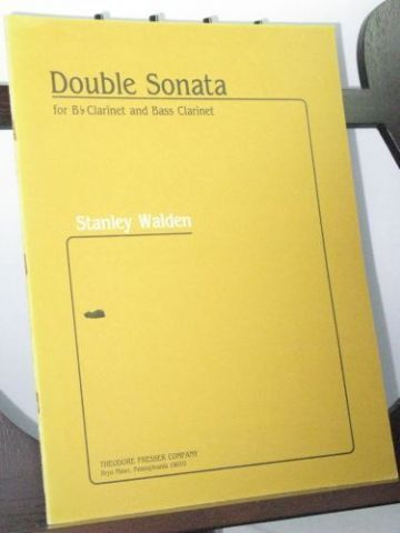 Walden S - Double Sonata for B Flat Clarinet and Bass Clarinet